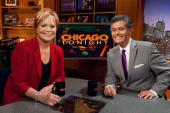 Photo of Carol Marin and Phil Ponce, Chicago Tonight