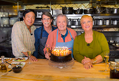 Photo of Jacques Pepin.